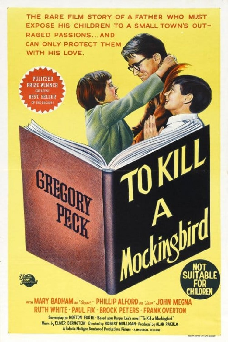 """To Kill A Mockingbird"" movie poster"