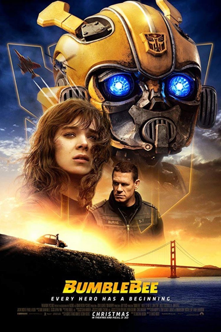 """Bumblebee"" movie poster"