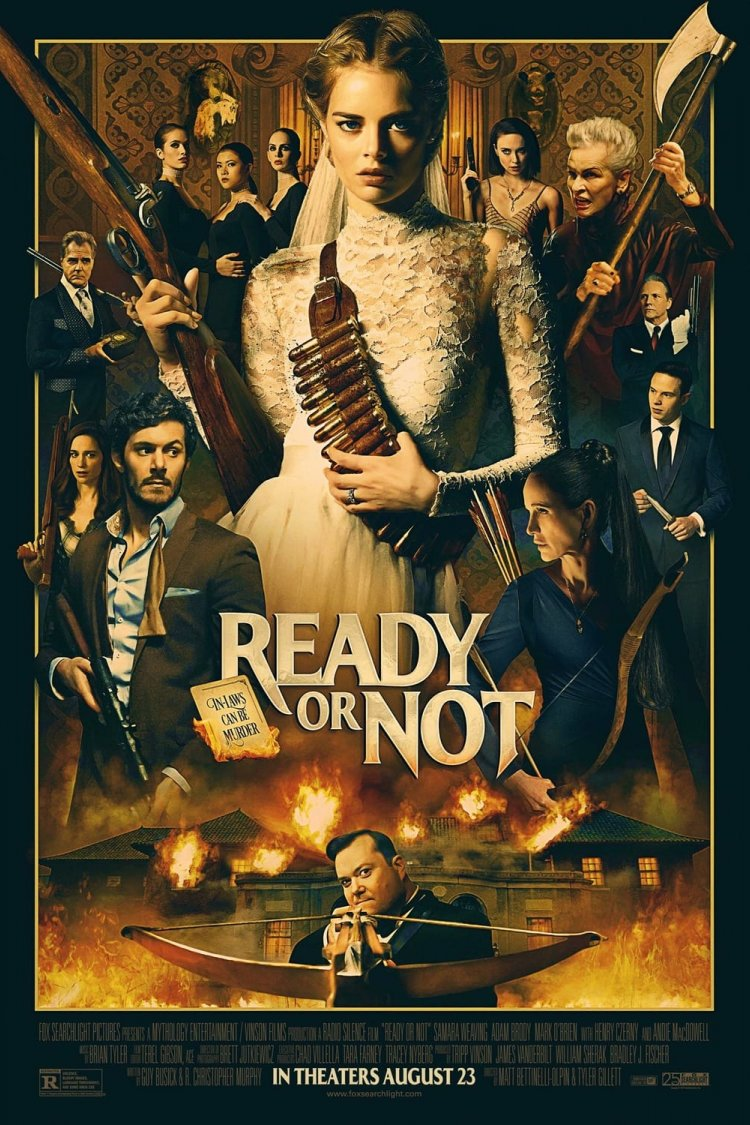 """Ready or Not"" movie poster"