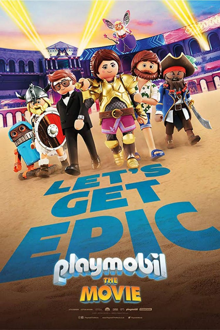 """Playmobil: The Movie"" movie poster"