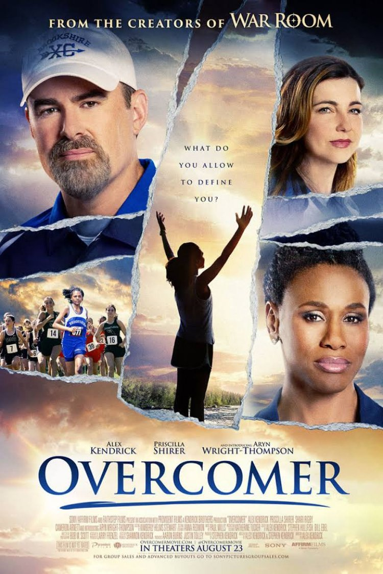 """Overcomer"" movie poster"