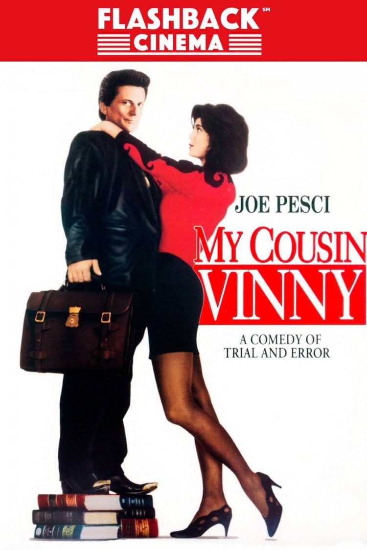 """My Cousin Vinny"" movie poster"