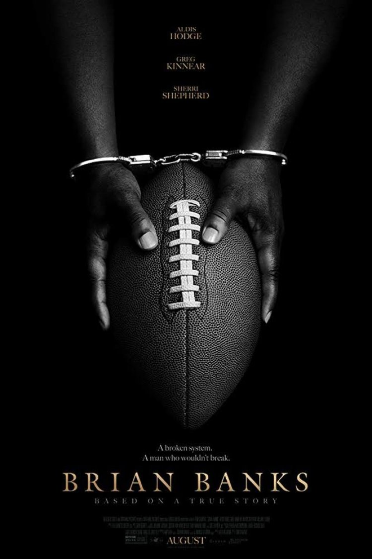 """Brian Banks"" movie poster"
