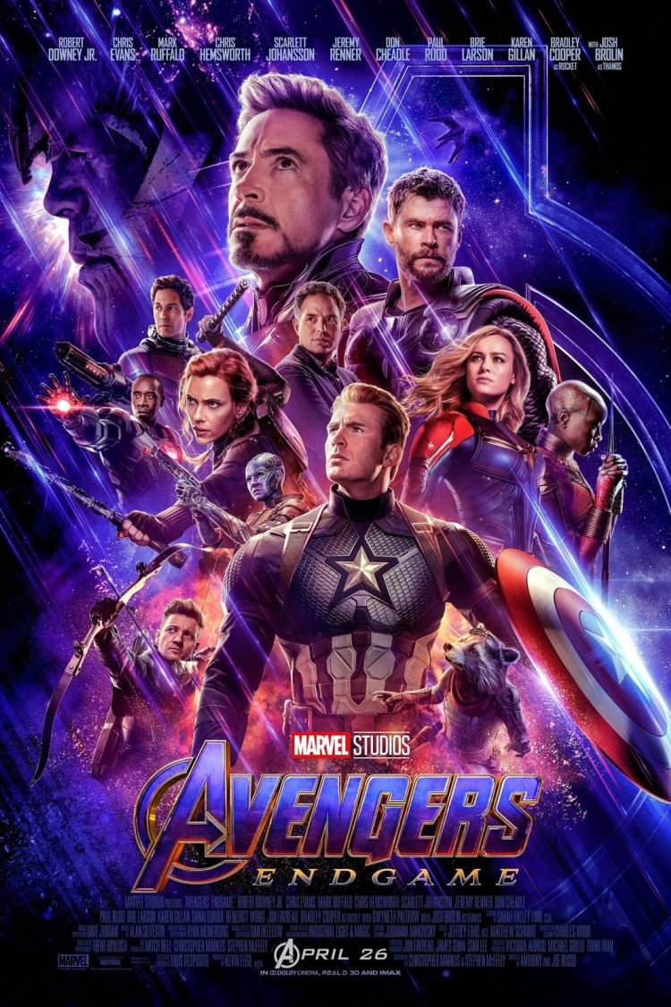 """Avengers: Endgame"" movie poster"