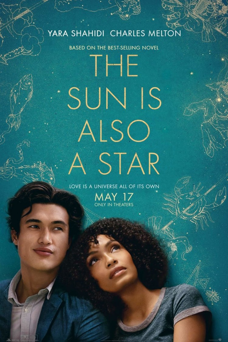"""The Sun is Also a Star"" movie poster"
