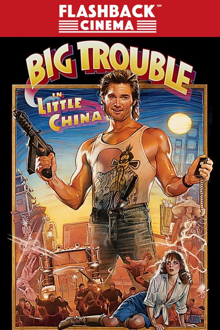 """Big Trouble In Little China"" movie poster"