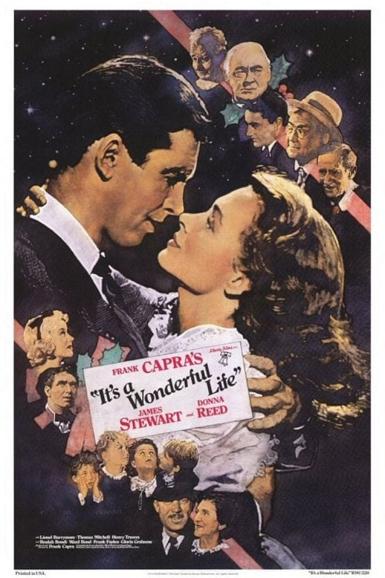"""It's A Wonderful Life"" movie poster"
