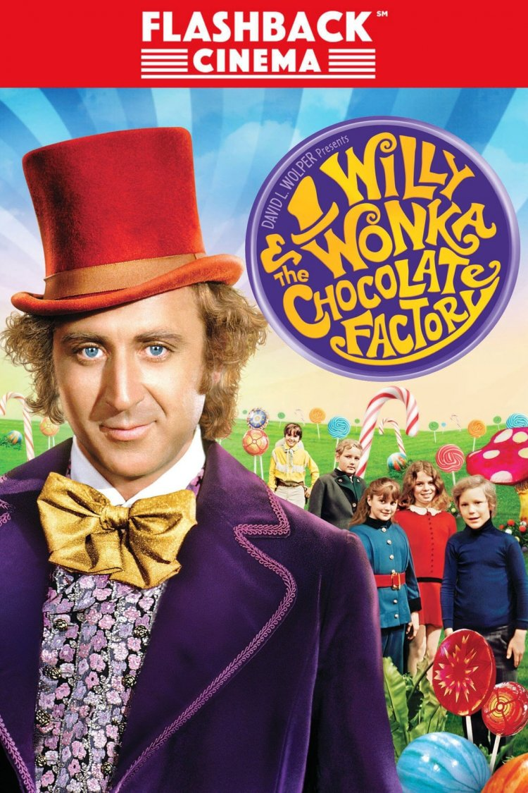 """Willy Wonka And Chocolate Factory"" movie poster"