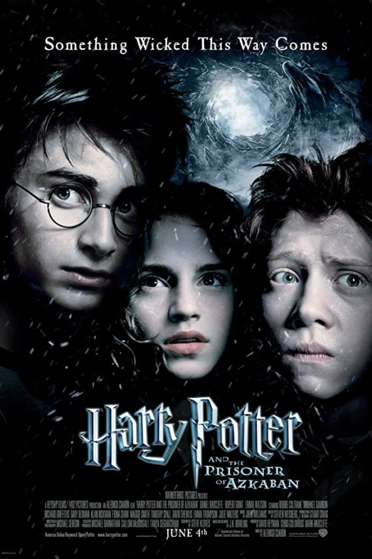 """Harry Potter & The Prisoner Of Azkaban"" movie poster"
