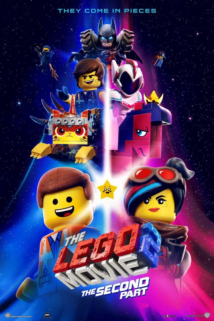 """The Lego Movie 2: The Second Part"" movie poster"