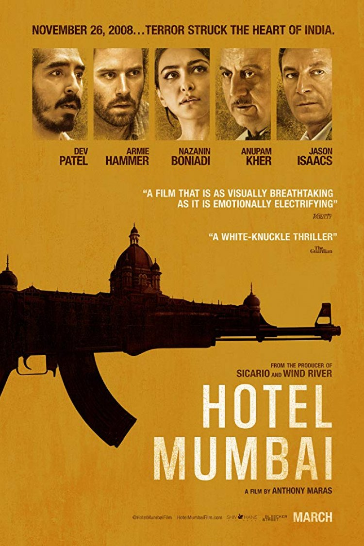 """Hotel Mumbai"" movie poster"