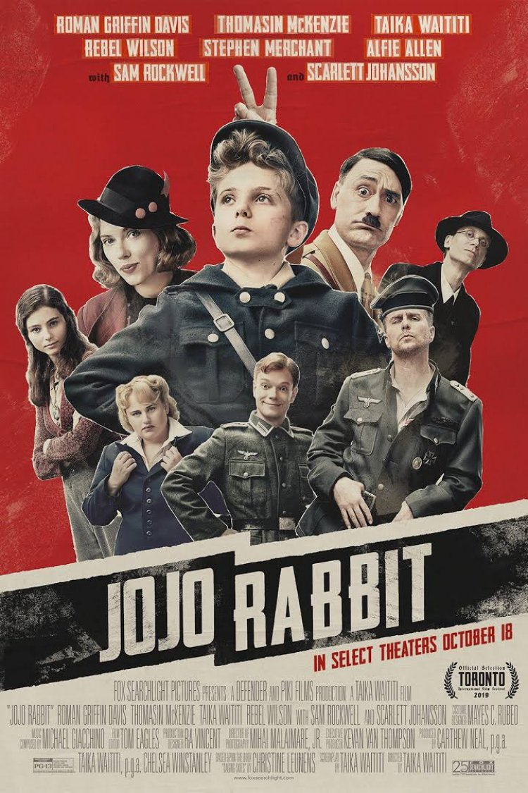 """Jojo Rabbit"" movie poster"