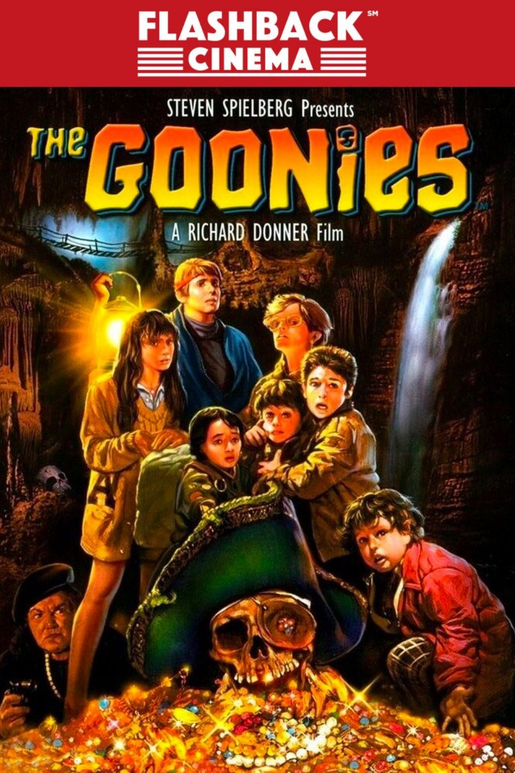 """The Goonies"" movie poster"