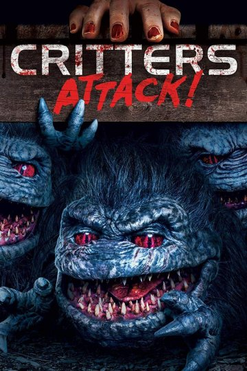 """Critters Attack!"" movie poster"