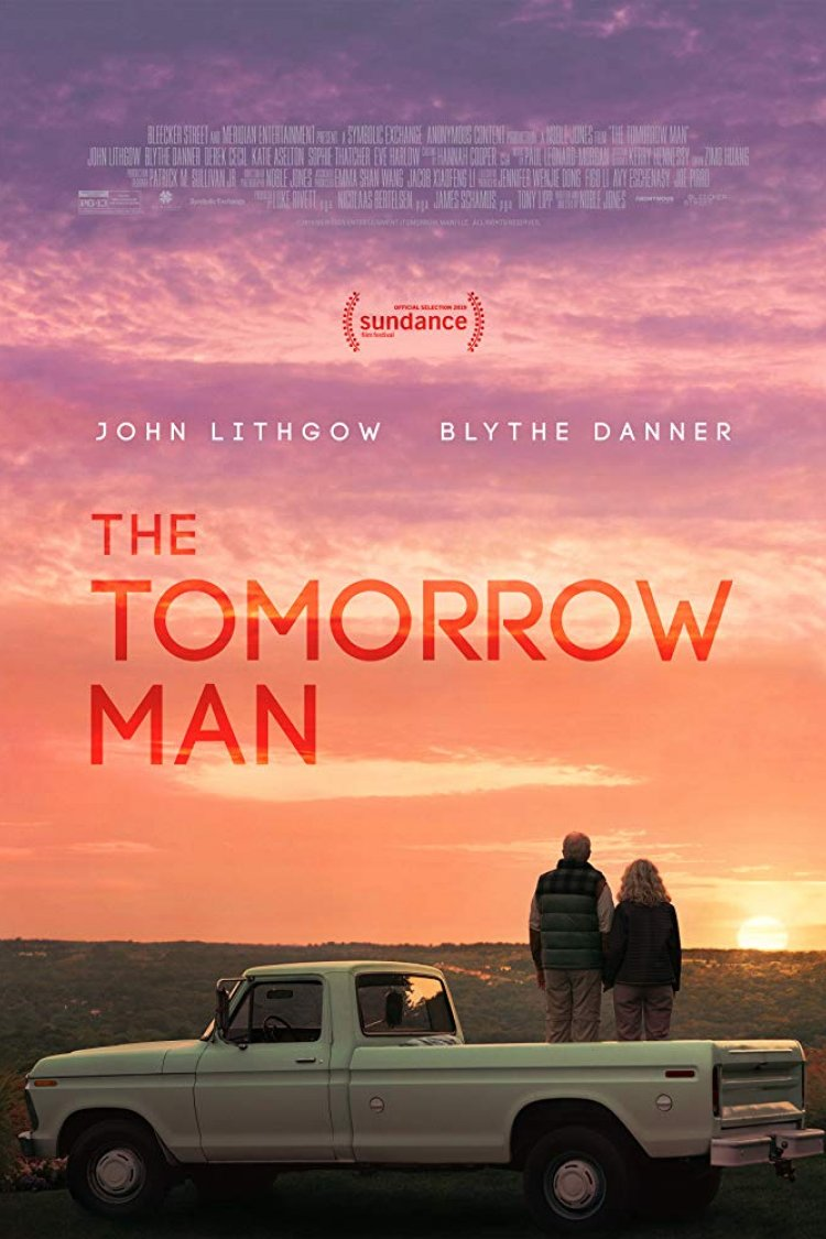 """The Tomorrow Man"" movie poster"