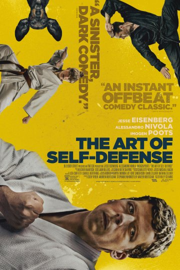 """The Art Of Self Defense"" movie poster"