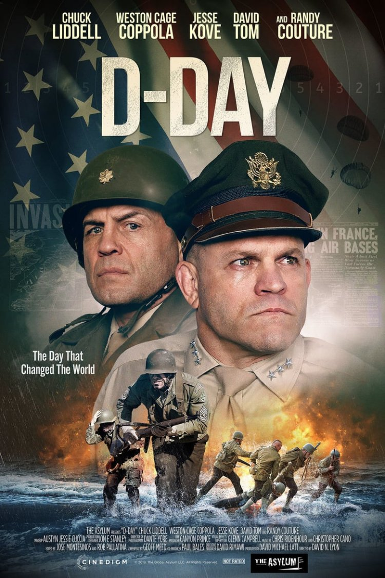 """D-Day"" movie poster"