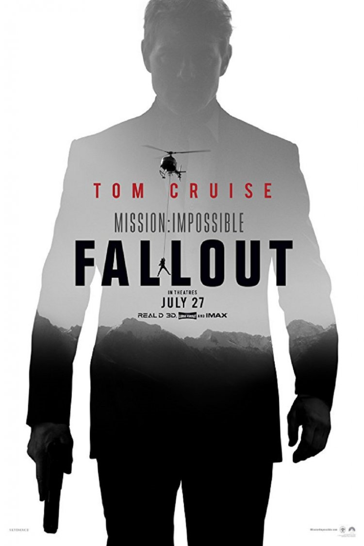 """Mission: Impossible - Fallout"" movie poster"