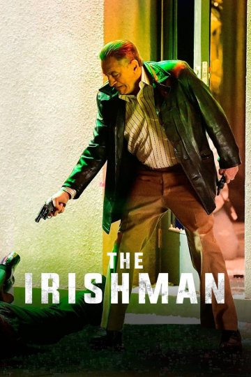 """The Irishman"" movie poster"