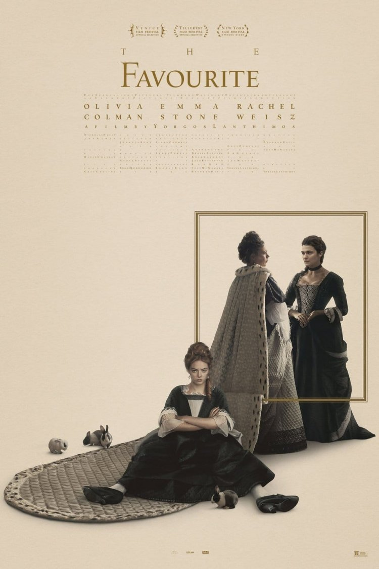 """The Favourite"" movie poster"