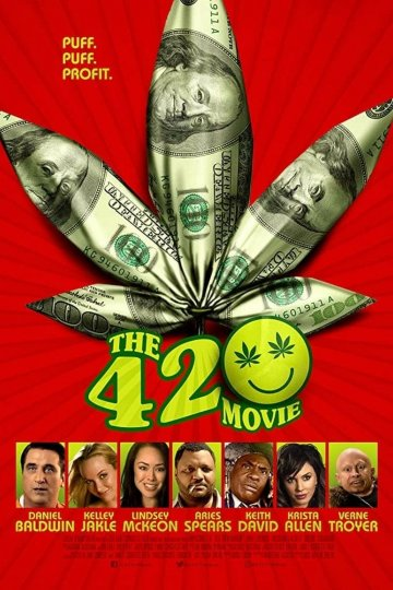 """The 420 Movie"" movie poster"