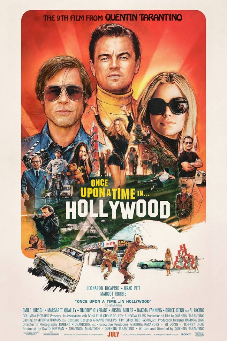 """Once Upon A Time In Hollywood"" movie poster"