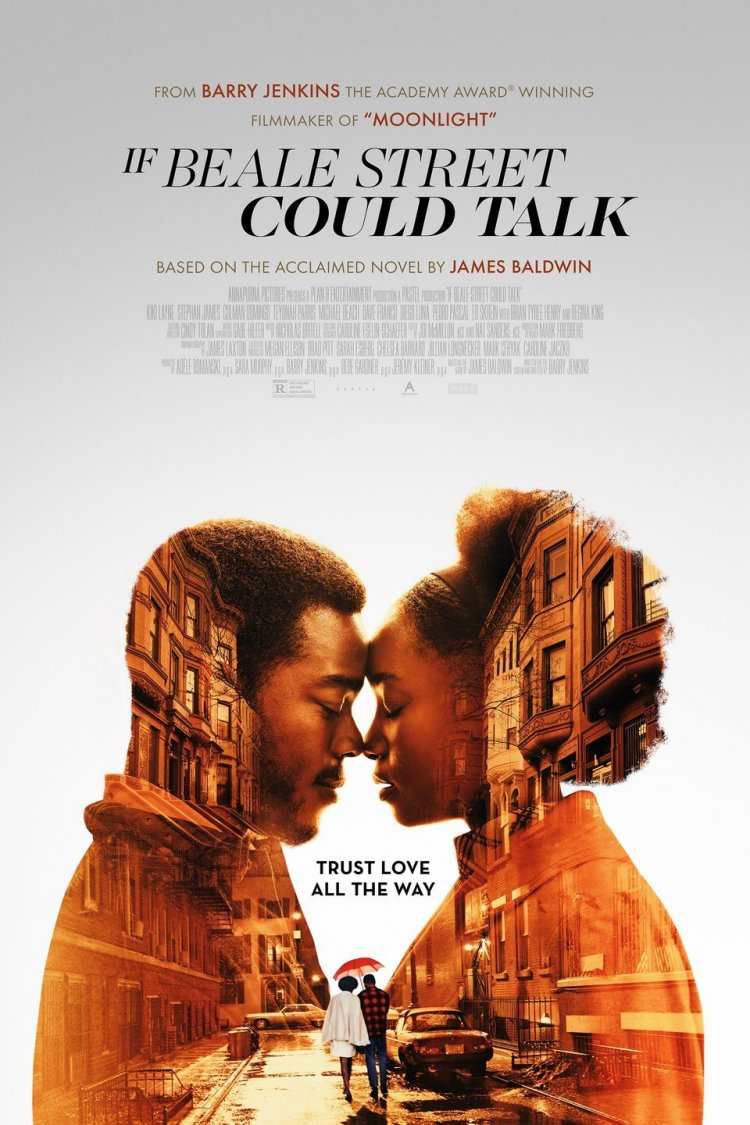"""If Beale Street Could Talk"" movie poster"