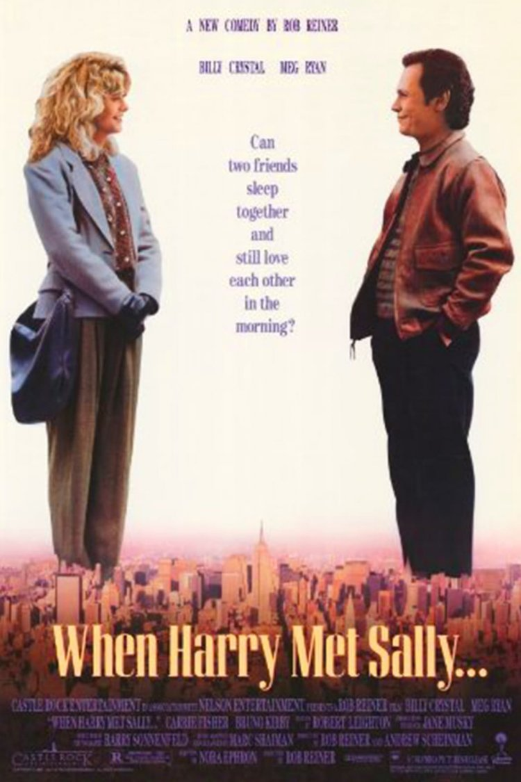 """When Harry Met Sally"" movie poster"