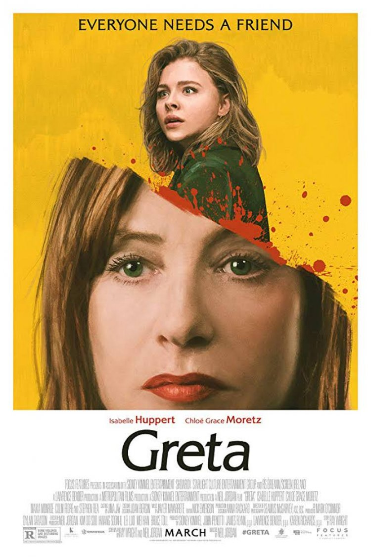 """Greta"" movie poster"
