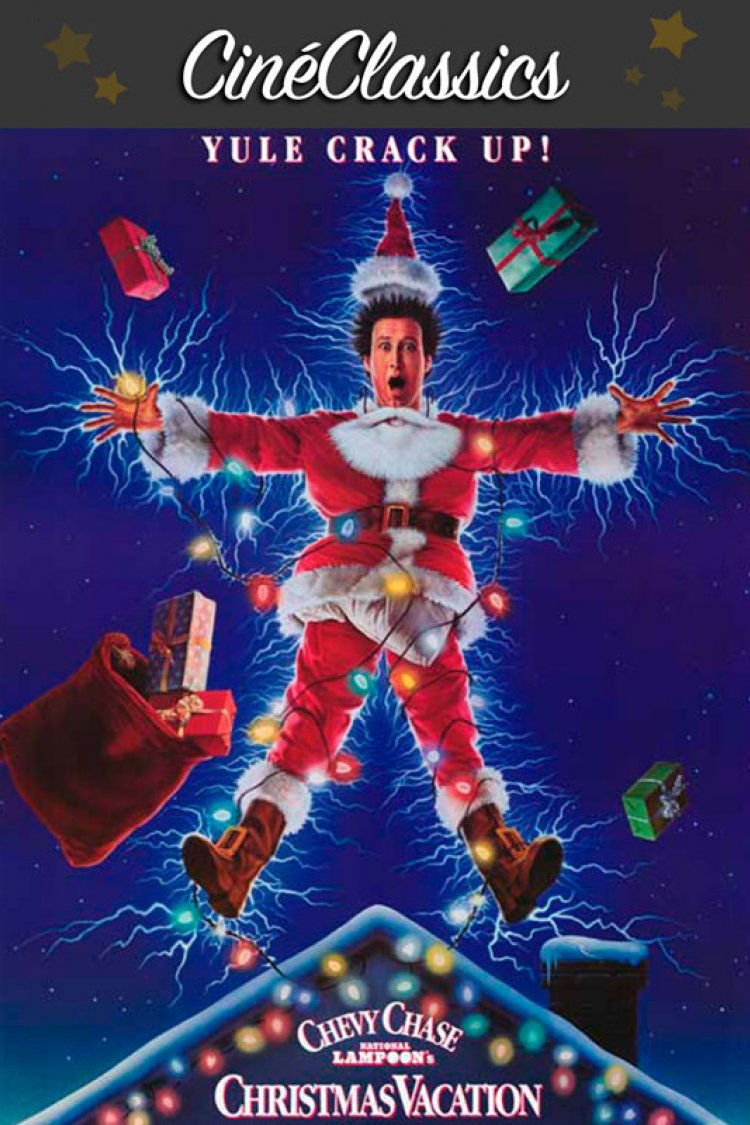 """National Lampoon's Christmas Vacation"" movie poster"
