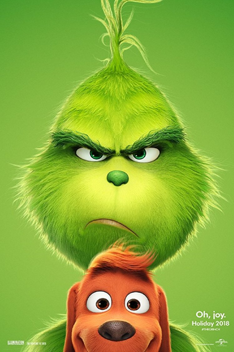 """The Grinch"" movie poster"