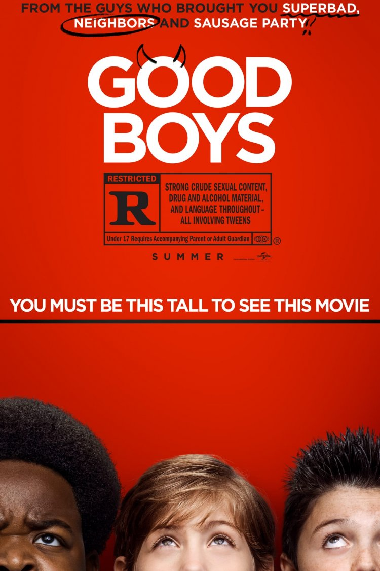 """Good Boys"" movie poster"