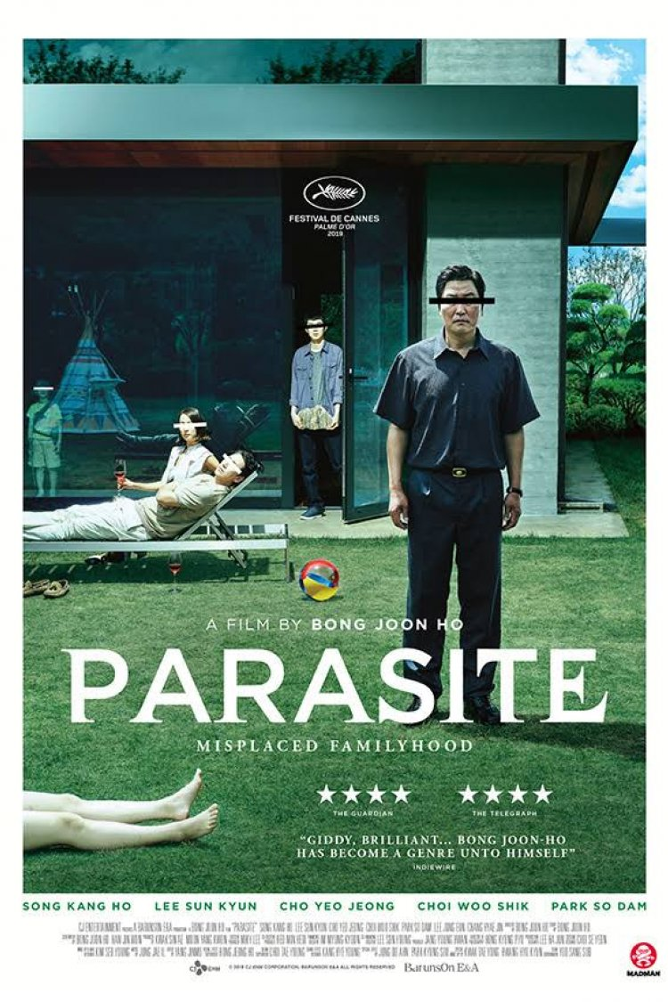 """Parasite"" movie poster"