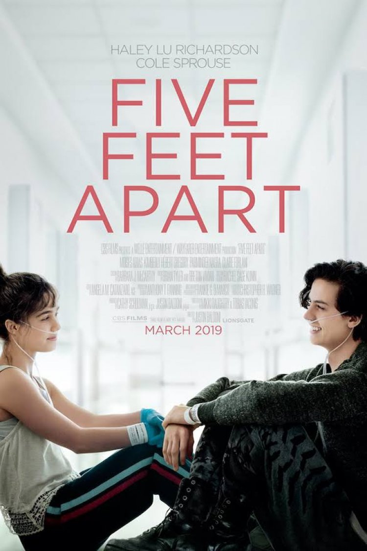 """Five Feet Apart"" movie poster"