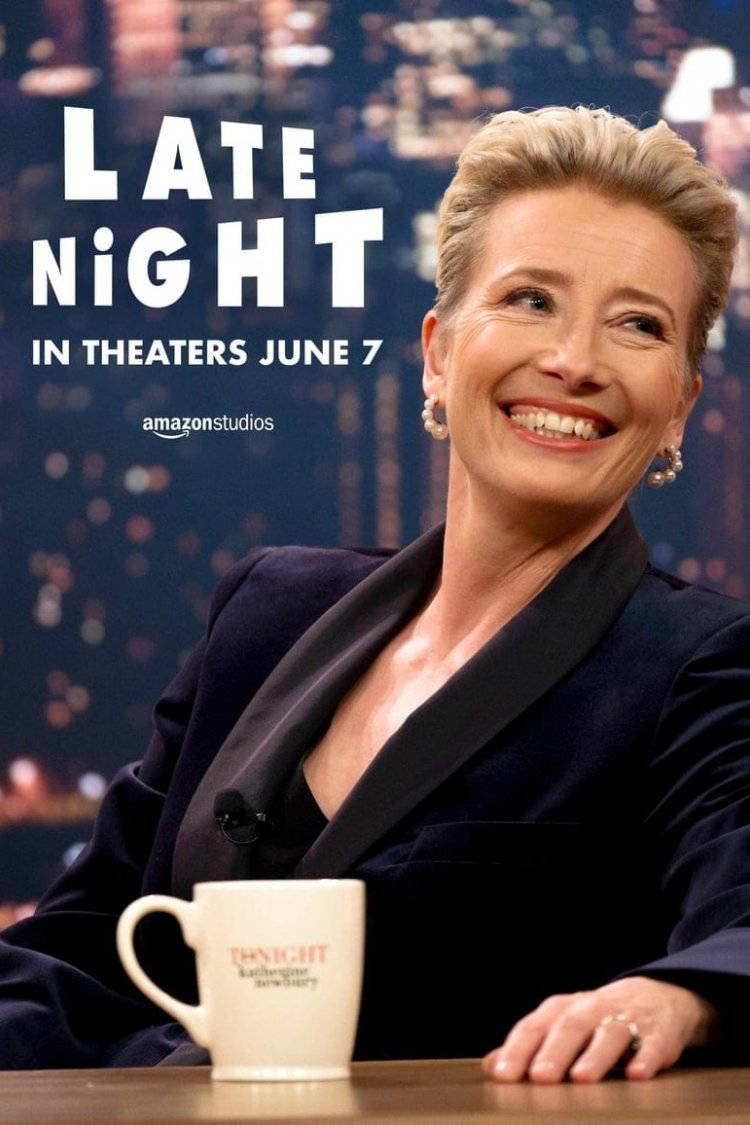 """Late Night"" movie poster"