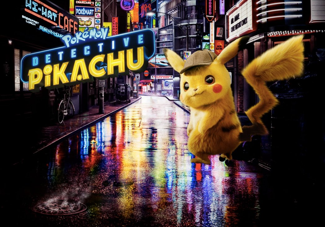 """Pokémon: Detective Pikachu"" movie poster"