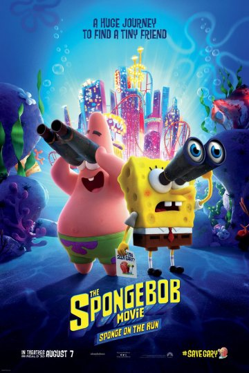 """The SpongeBob Movie: Sponge on the Run"" movie poster"