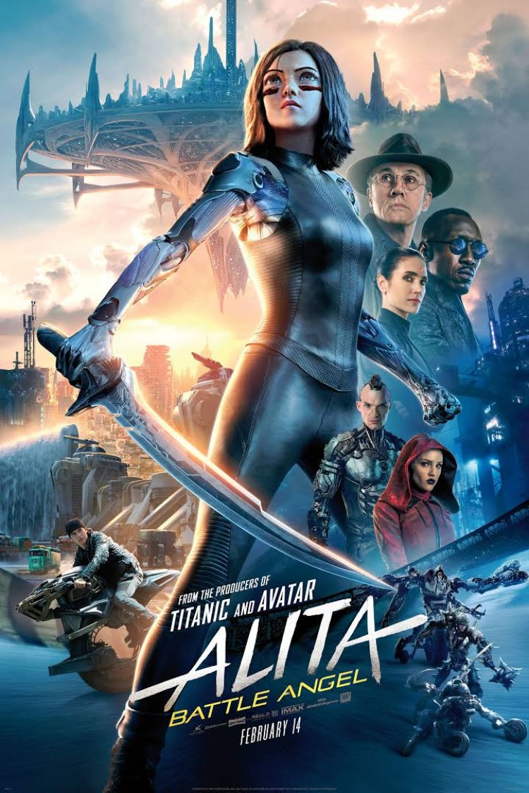 """Alita: Battle Angel"" movie poster"