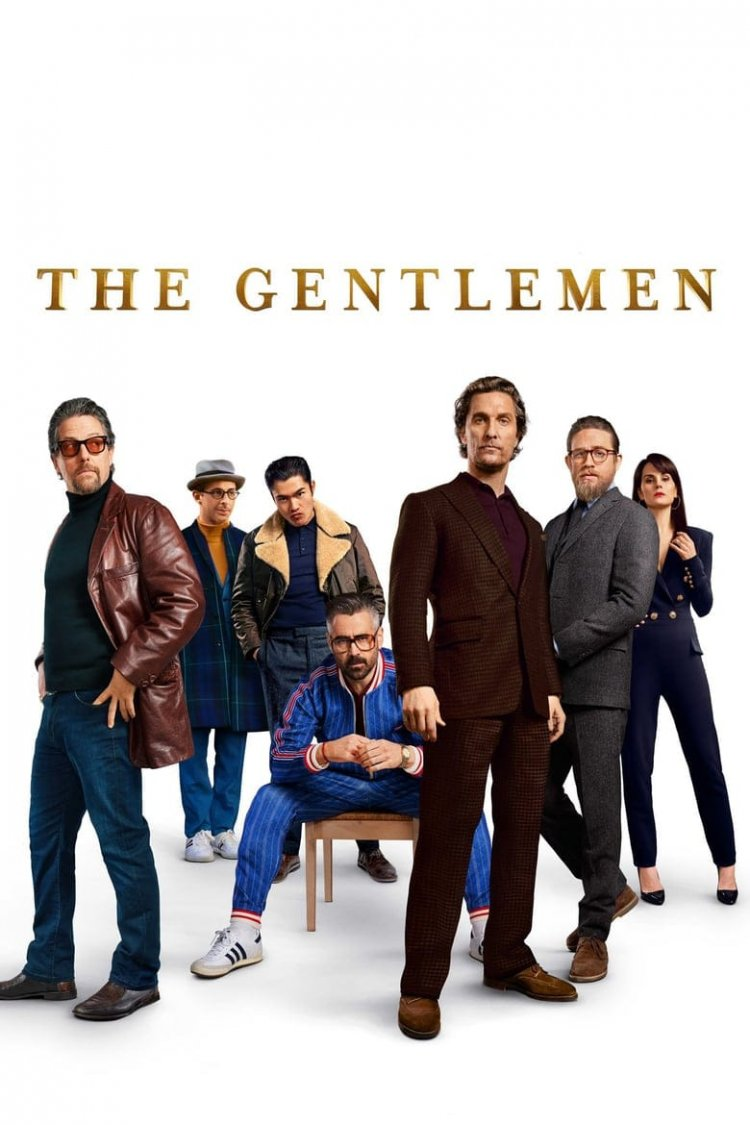 """The Gentlemen"" movie poster"