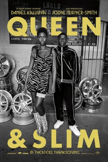 """Queen & Slim"" movie poster"