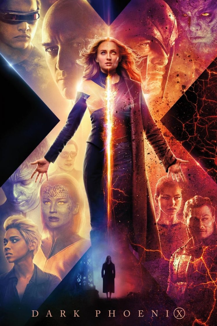 """Dark Phoenix"" movie poster"