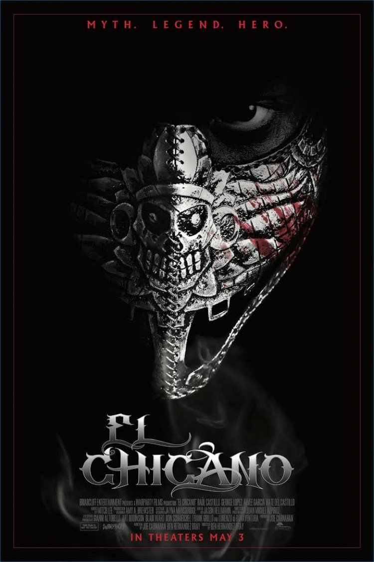 """El Chicano"" movie poster"