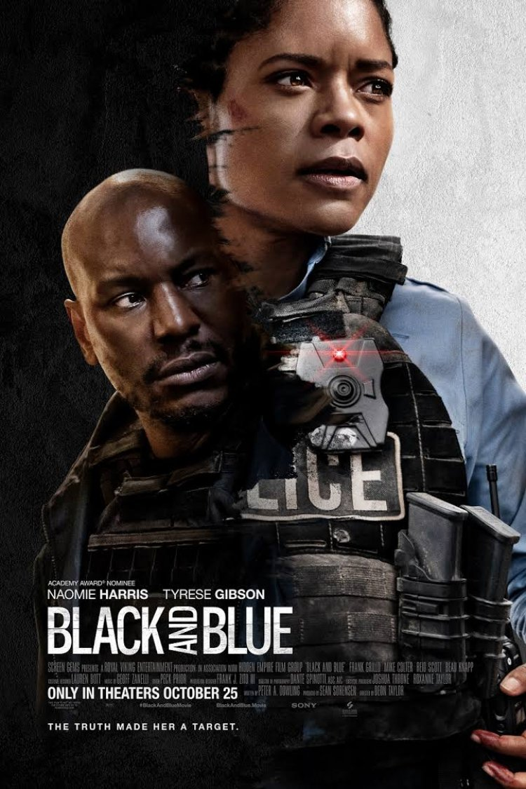 """Black and Blue"" movie poster"