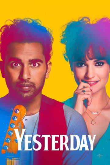 """Yesterday"" movie poster"