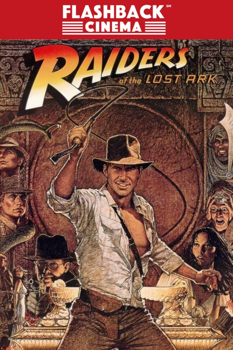 """Raiders Of The Lost Ark"" movie poster"