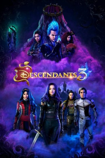 """Descendants 3"" movie poster"