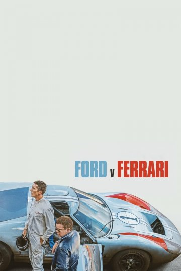 """Ford v. Ferrari"" movie poster"