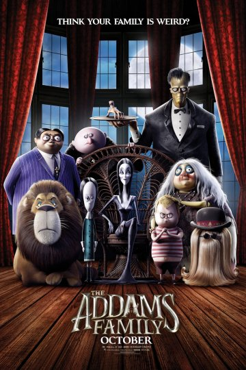 """The Addams Family"" movie poster"