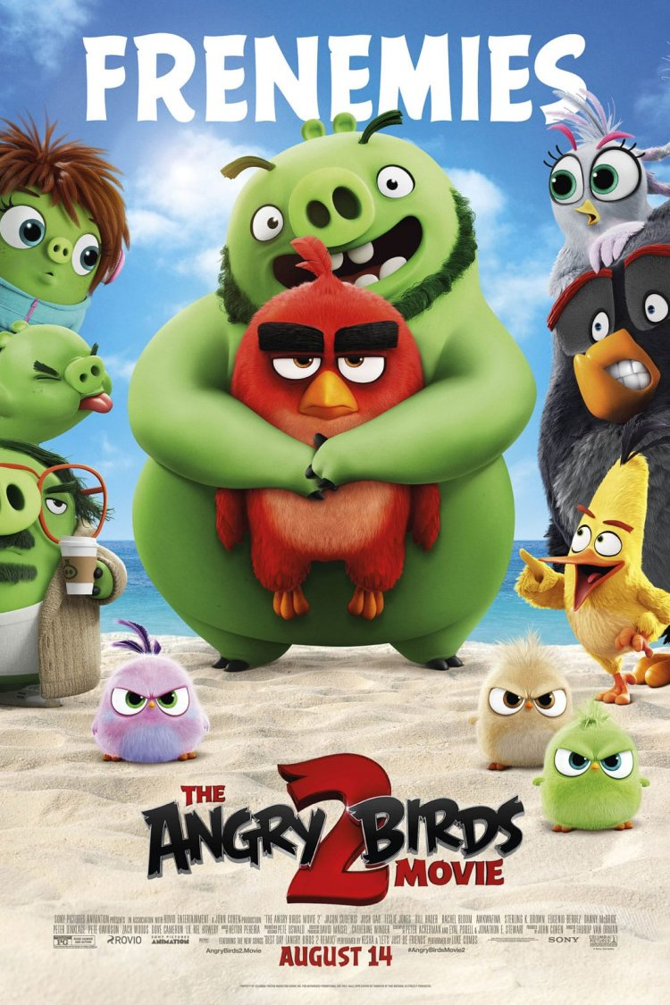 """The Angry Birds Movie 2"" movie poster"