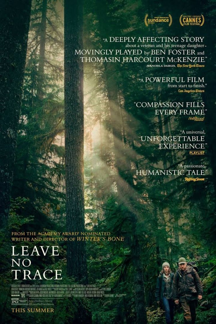 """Leave No Trace"" movie poster"